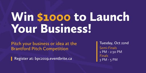 Brantford Pitch Competition 2019