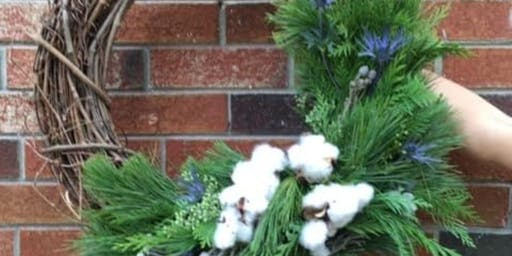 Winter Wreaths at Calico with Alice's Table