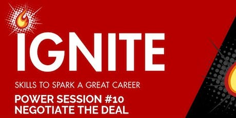 Ignite Power Session 10 : Negotiate the Deal tickets
