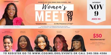 COGIMG, INC. Women's MEET 2019 tickets