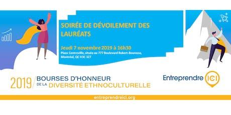 Gala des Bourses d'Honneur Édition 2019 billets