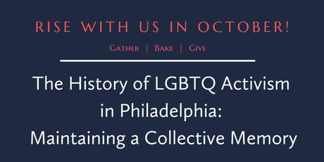 A History of LGBTQ Activism in Philadelphia - The Church's Response tickets