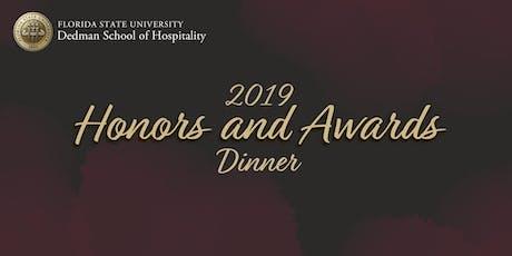 Dedman 2019 Honors & Awards Dinner tickets