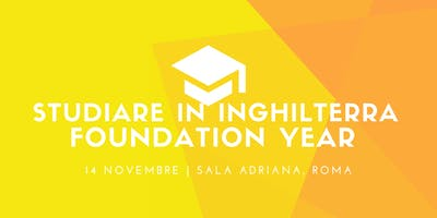 Studiare in Inghilterra - Foundation Year