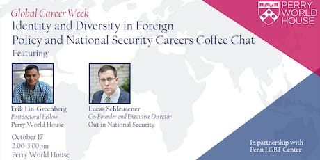 Global Career Week: Identity and Diversity in National Security Careers tickets