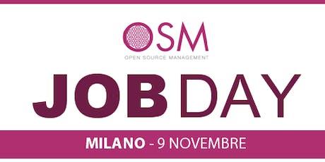 JOB DAY OSM - Lavora per l'azienda che hai sempre sognato biglietti