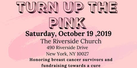 TURN UP THE PINK tickets