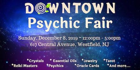 Downtown Psychic Fair - December 2019 tickets