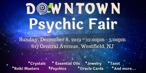 Downtown Psychic Fair - December 2019