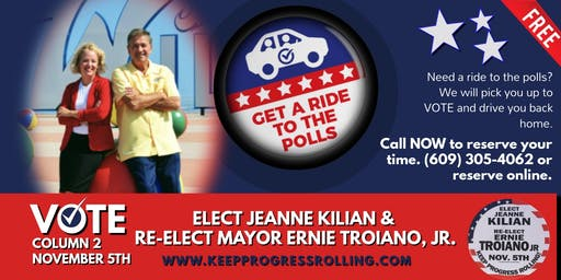 Get a Free Ride to the Polls!