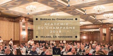 Académie du Champagne 2019 biglietti