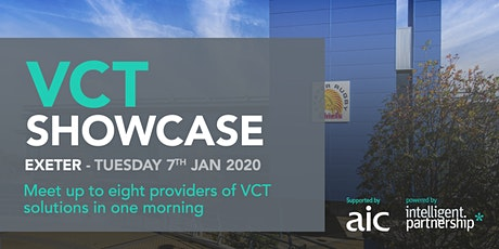 VCT Showcase for financial advisers and wealth managers | Exeter tickets