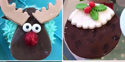 Sugar Craft Christmas Cupcake decorating Workshop