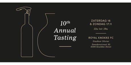 Annual Tasting: 16-17 november 2019 tickets