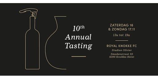 Annual Tasting: 16-17 november 2019