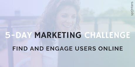 5-Day Marketing Challenge | Female Entrepreneurs tickets