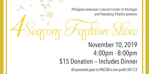 PACCM Fashion Show Fundraiser