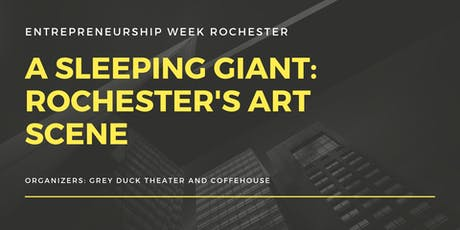 A Sleeping Giant: Rochester's Art Scene tickets