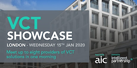 VCT Showcase for financial advisers and wealth managers | London tickets