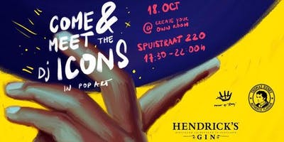 Ticket for ADE Come and meet the DJ Icons in Pop-A