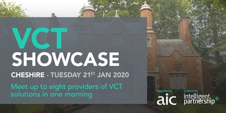 VCT Showcase for financial advisers and wealth managers | Cheshire tickets