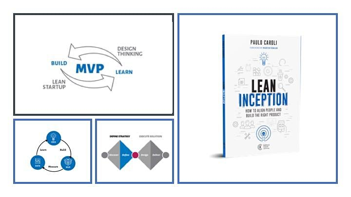 REMOTE LEAN INCEPTION TRAINING - LIVE & ONLINE image