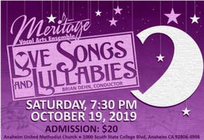 Meritage Vocal Arts Ensemble: Love Songs and Lullabies