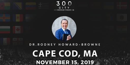 Rodney Howard-Browne in Cape Cod, Massachusetts