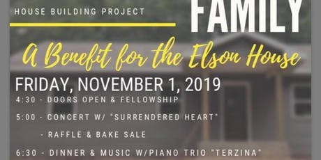 A Benefit For The Elson House tickets