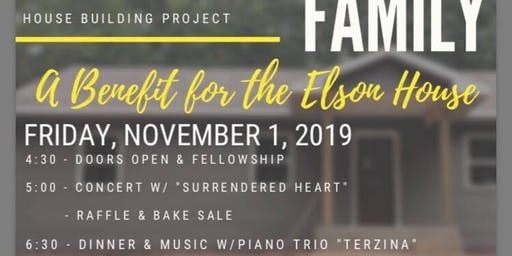 A Benefit For The Elson House