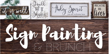 Scripture Sign Painting tickets