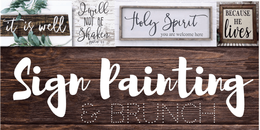 Scripture Sign Painting
