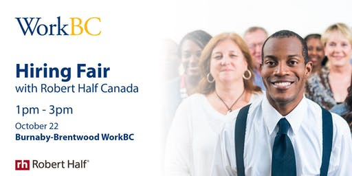Hiring Fair with Robert Half Canada