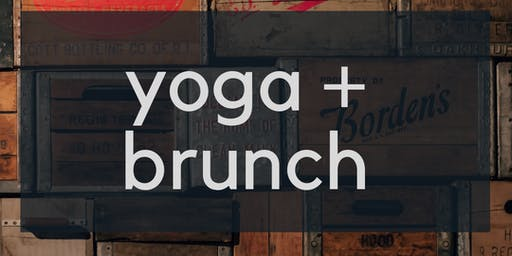 Yoga and Brunch at Milk Money