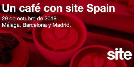 BARCELONA - UN CAFÉ CON SITE SPAIN: EL RETORNO DE LA INVERSIÓN EN FERIAS entradas