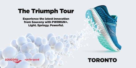 Saucony Triumph Tour | Toronto (Rosedale) tickets