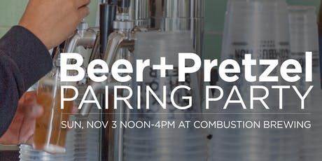 Beer + Pretzels Pairing Party tickets