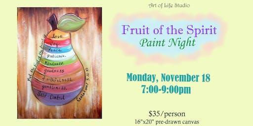 Paint Night: Fruit of the Spirit