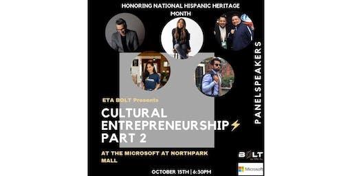 Cultural Entrepreneurship: Hispanic Heritage Month