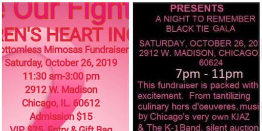 HER BATTLE OUR FIGHT BLACK TIE GALA BREAST CANCER FUNDRAISERS (2 Events)