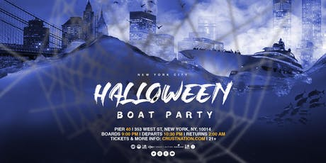 Crust Nation Yacht Cruise Boat Party NYC Halloween Event tickets