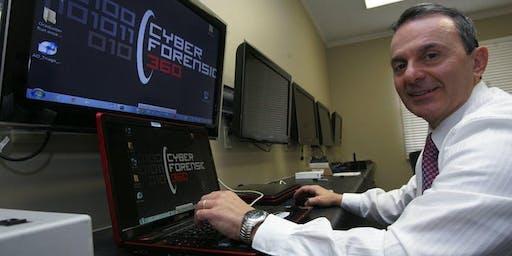 Former Secret Service agent and Cyber Forensics Expert Gus Dimitrelos