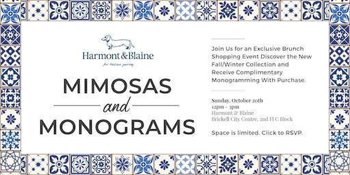 Mimosas & Monograms