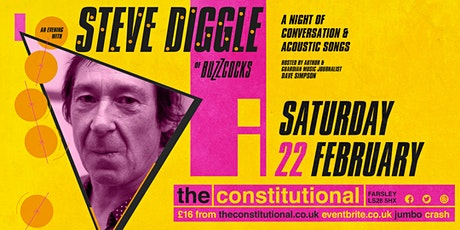 An Evening With Steve Diggle of The Buzzcocks tickets