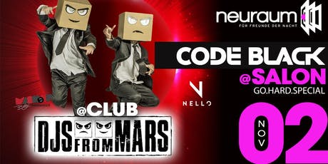 MASHUP Baby! mit DJs FROM MARS & Code Black @ Salon Tickets