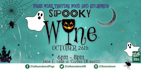 Spooky Wine tickets