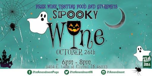 Spooky Wine