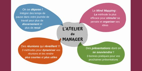 L'Atelier du Manager :  Des outils innovants pour gagner en efficacité ! billets