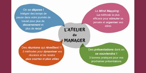L'Atelier du Manager :  Des outils innovants pour gagner en efficacité !