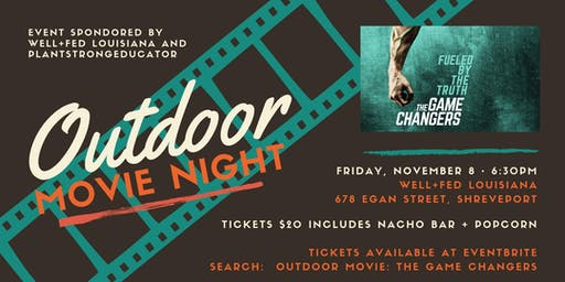 Outdoor Movie:  The Game Changers